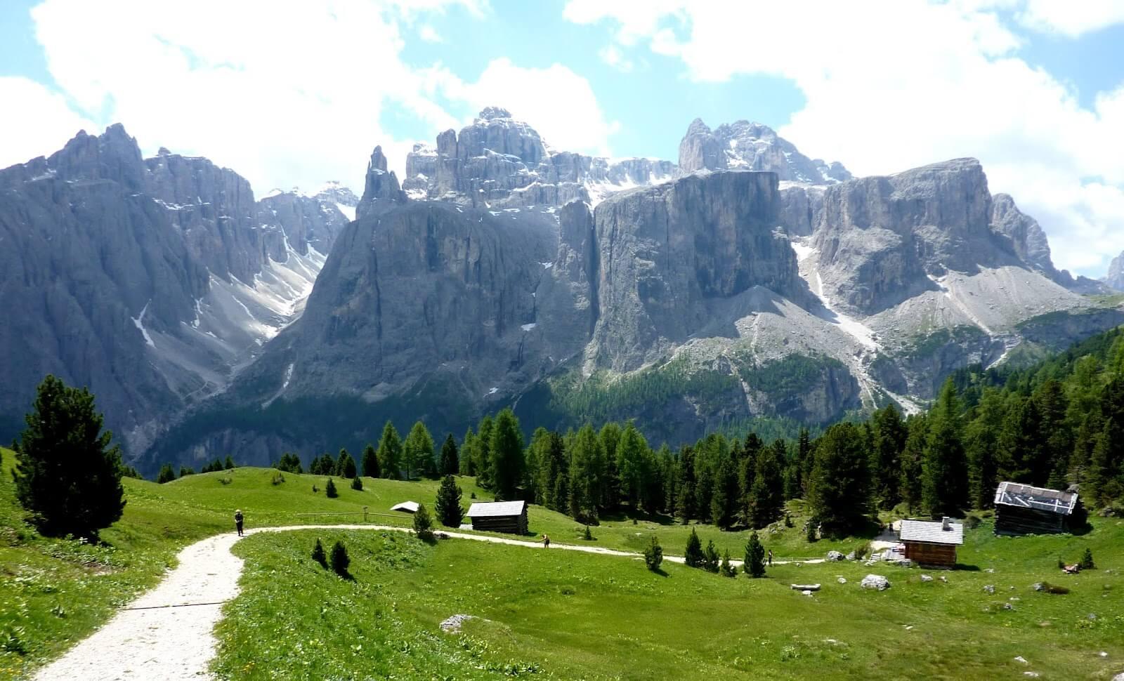 Viaje a la cordillera de los Dolomitas (Italia)