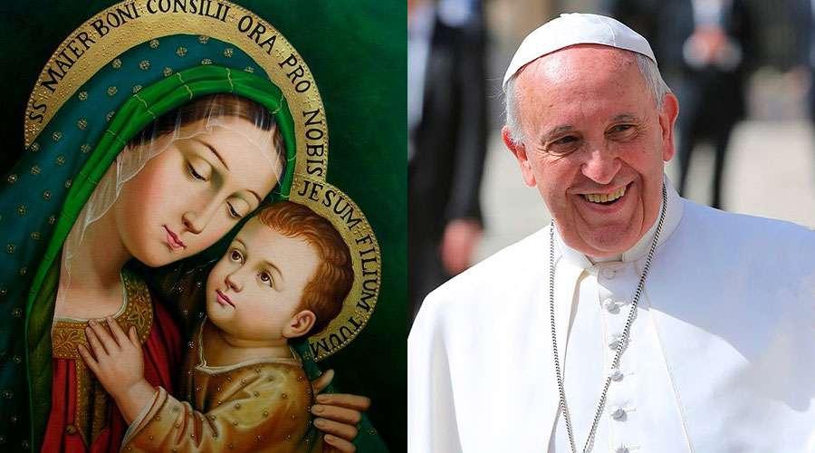 Carta del Papa Francisco para el mes de mayo